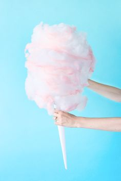 DIY Cotton Candy Piñata | studiodiy.com