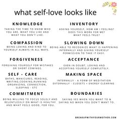 What self-love looks like. Figuring out what self-love looks like after narcissistic abuse. Toxic Relationships, Healthy Relationships, Relationship Advice, Marriage Tips, Healthy Relationship Tips, Abusive Relationship, Workout Cardio, Band Workout, Mental And Emotional Health