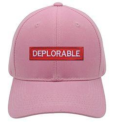477c703c7a9 Deplorable Hat Funny Pro Trump Style Color Options at  Snowflakerepellent.com  trumphat  trumphats