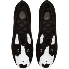 Marc by Marc Jacobs Neville Loafer Shoes featuring polyvore, fashion, shoes, loafers, flats, rubber sole shoes, pull on shoes, loafer shoes, slip on flats and dog footwear
