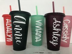 Personalized Starbucks Seasonal Cold Cup Venti Cold | Etsy Seafoam Green Color, Starbucks Coffee, Sea Foam, Coffee Cups, Personalized Gifts, How To Apply, Cold, Etsy, Coffee Mugs