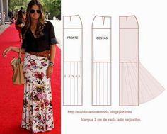 LONG SKIRT ~ Molds Fashion for Measure