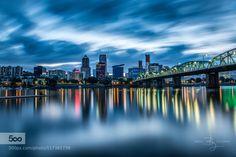 Hawthorne Bridge by BBGoldm. Please Like http://fb.me/go4photos and Follow @go4fotos Thank You. :-)