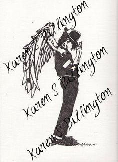 Michael Jackson Memorial Print by KSBDesign on Etsy, $15.00