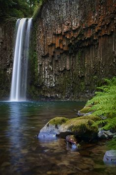 Abiqua Falls in Oregon, don't know where this is, but want to see it someday