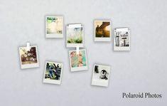 Sims4 Polaroid Photos 牆上照片組 - Ruby's Home Design