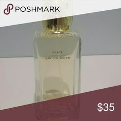 Josie Maran Holistic Fragrance Scent is Vanilla Wafer (Peace). Has green foliage, Lily of the Valley, Vanilla and rice milk notes. Eau DE Parfum is new and never sprayed.  No trades.   Please submit any offers through the offer option. Sephora Makeup