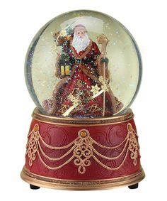 Take a look at this Santa Music Globe by Roman, Inc. on #zulily today!
