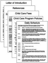 Awesome daycare forms