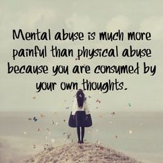 Mental abuse continues even when the abuser is not there, or has been left. Your own mind becomes your worst enemy. Luckily there is healing after abuse (Abusive Relationship) Narcissistic Sociopath, Narcissistic Personality Disorder, Narcissistic Husband, Narcissistic Behavior, Abuse Survivor, My Demons, Toxic Relationships, Relationship Advice, Thoughts
