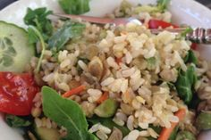 Quick & Easy Lentil protein salad