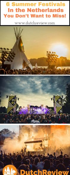 6 of the best Summer music festivals you don't want to miss in the Netherlands!