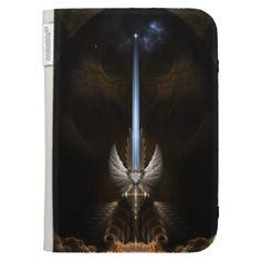The Angel Wing Sword Of Arkledious Kindle Case The Angel Wing Sword Of Arkledious Kindle Case by Xzendor7 Browse more Angel wing sword of arkledious Caseable Cases at Zazzle