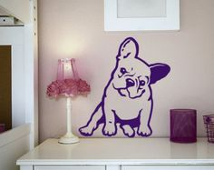 Dog Decal French Bulldog Puppy Vinyl Sticker Decal by PSIAKREW