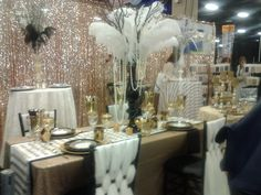 Gatsby table setting