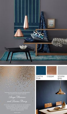 Interior Design Colors Trends That Will Inspire You | interior design trends, color trends, mood board | #homedecor #interiordesign #moodboard |     See more: https://www.brabbu.com/moodboards/