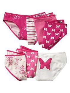Butterfly low-rise bikini (7-pack) | Gap
