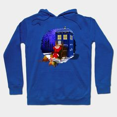 10th Doctor Relax before Christmas Hoody #Hoody #clothing #tshirt #painting #digital #ink #watercolor #comic #illustration #popart #christmas #newyear #tardisdoctorwho #doctorwho #tardis #timelord #badwolf #drwho #timetravel #starrynight