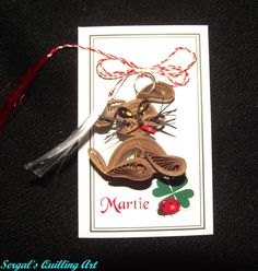 Sergal's quilling art Quilling Cards, Paper Quilling, Quilling Animals, Floral Designs, Pet Birds, Christmas Ornaments, Holiday Decor, Art, Art Background