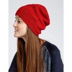 Slouchy Beanie - Free Caron Simply Soft pattern - Yarnspirations.com