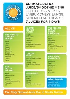 More Detox Juices