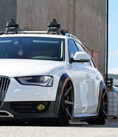 Dished Audi allroad