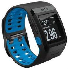 Nike + SportWatch GPS Powered by TomTom Anthrazit/Blue Glow