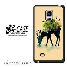Deer Tree Bird DEAL-3134 Samsung Phonecase Cover For Samsung Galaxy Note Edge