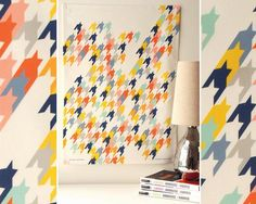 Colorful Houndstooth | ... then perhaps you'll appreciate this multi-colored houndstooth print
