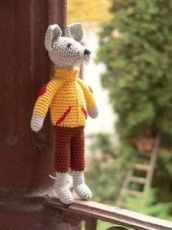 Balikó - horgolt figura Lamb, Teddy Bear, Knitting, Animals, Ideas, Animales, Tricot, Animaux, Breien