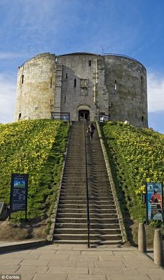 On this day 16th March, 1190, the Crusades began the massacre of Jews at Clifford's Tower, York, England. Some committed mass suicide rather than submit to baptism and they set the castle on fire to prevent their bodies being mutilated after their deaths. A few Jews did surrender, promising to convert to Christianity, but the were killed by the angry crowd. In all 150 were killed
