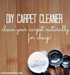 The Original Dry Carpet Cleaner with step by step instructions on how to deep clean your carpet using this proven carpet cleaner recipe..