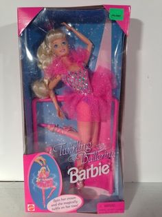 1995 Twirling Ballerina Poseable Barbie Doll - Magically Twirls On Her Toes NEW | eBay