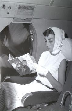 Moon River — celebscarves: Audrey Hepburn
