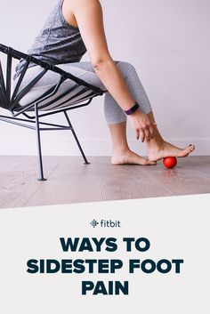 What to do when you start to feel foot pain caused by plantar fasciitis. How to treat it, avoid it, and deal with it now so you can get stepping again!
