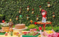 Festa infantil da Chapeuzinho Vermelho | nmagazine.com.br