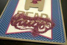Silhouette Blog: Use doubl-sided adhesive and glitter for valentines!