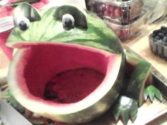 Watermelon Carving