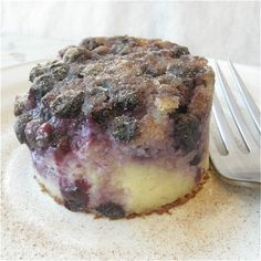 @Sara Morin recommended I try this Blueberry Breakfast Cake, and suggested swapping the sweet stuff for savory items, yum!