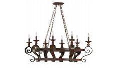 Craftmade   28038-SPZ   Spanish Bronze   Lighting > Chandeliers
