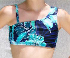 One Shoulder Sports Bra Dance Top  In Girl's by DanceMomsDanceWear, $30.00