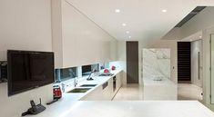 Twin Modern Homes open space kitchen