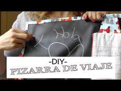 DIY Costura: Pizarra enrollable de Viaje para niños. (Patrones Gratis) - YouTube