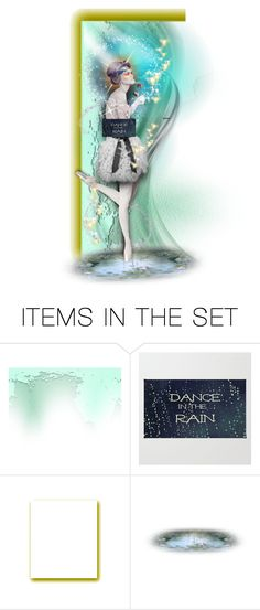 """""""Dance in the Rain"""" by fm3happy ❤ liked on Polyvore featuring art and theme_E"""