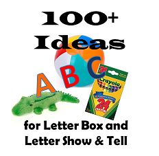 Stuck on an idea for your preschoolers Letter Show & Tell? Pin this ...