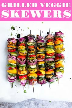 This Is the Ultimate Vegetarian Grilling Guide for SummerYou can find Vegetarian barbecue and more on our website.This Is the Ultimate Vegetarian Grilling Guide for Summer Grilled Vegetable Recipes, Grilled Veggies, Bbq Vegetables, Veggie Recipes For Summer, Best Veggies To Grill, Summer Vegetarian Recipes, Roasted Vegetables, Barbecue Recipes, Grilling Recipes
