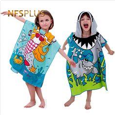 5cd80e3e08 Baby Hooded Bath Towel Poncho Children Kids Bathrobe Towels Bath Robe Quick  Dry Absorbent Microfiber Travel Sports Beach Towel Review