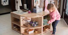 Our Montessori children's kitchen
