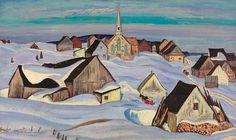 A.Y. Jackson Winter, St-Fidèle, 1930