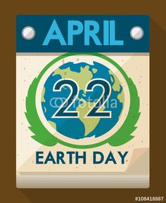 Special Date in Calendar for Earth Day Celebration